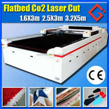 High precision CNC CO2 fabric cloth non woven laser cutting machine
