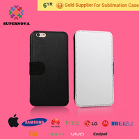 Blank Sublimation Case, Flip Leather Case Cover, Blank Leather Case