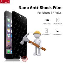 hammer nano anti shock screen protector film for iphone 7 plus screen guard