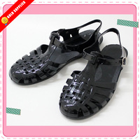 Crystal jelly shoes sandals