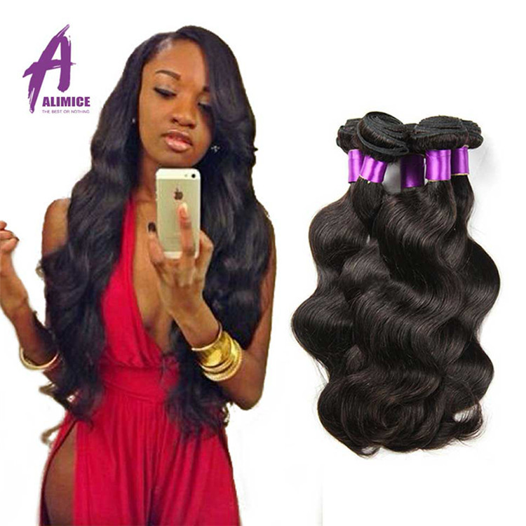 Wholesale 9A Natural Raw Indian Human Hair Body Wave Style, 100% Virgin Indian Virgin Human Hair Weaves, Indian Remy Human Hair