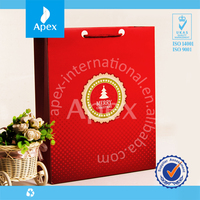 Eco-friendly Paper Bags for Packaging Christmas gift for sale