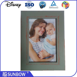 Cheap Wholesales Design Funny High Quality Family Use Wooden Handmade Matted Picture Frames