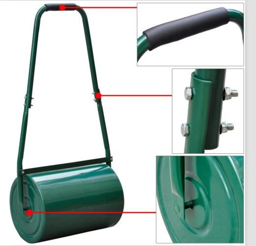 Durable stainless steel multifunction convenience lawn roller