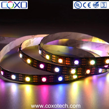New Arrivals Black PCB SMD 5050 APA102 WS2812B Smart Pixel Led Strip Light