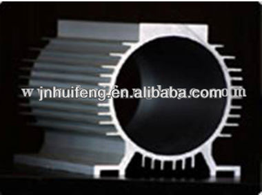 aluminum profiles for electrical machine shell