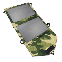 Portable Solar Charger Bag 7W Foldable Solar Panel USB 5V Mobile Phone Battery Chargers Mobile Power Bank Charger