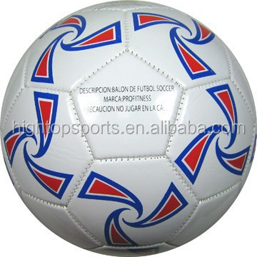 Customized material machine stiched official size 5 soccer ball in bulk