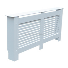 White Painted MDF Large Radiator Cover