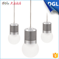 linear office hanging light ivory acrylic ball lamp head led pendant lamp