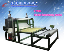 hot air pressure hot melt glue laminating machine