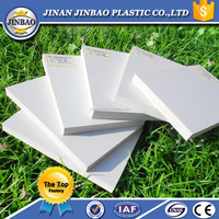 JINBAO 6 7 8 9 10 12 15 18mm white forex foam pvc sheet for sign