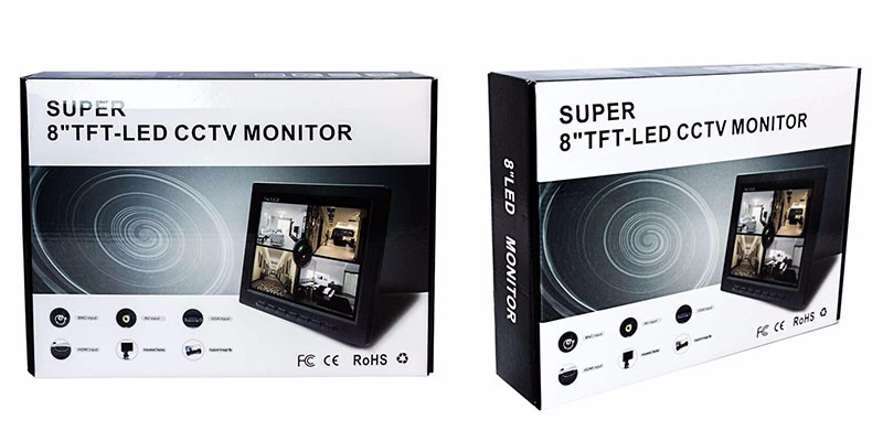 7 8 10 inch cctv lcd monitor