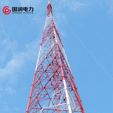 Our project in Singapore 150m tv 3 legged tower