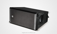 TRS Q1 dual 10 inch two-way line array speaker sound and light truss system