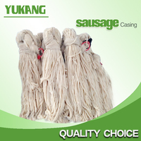 Salted sheep casing Baoding competitive price 16/18 B grade lamb casing for sale