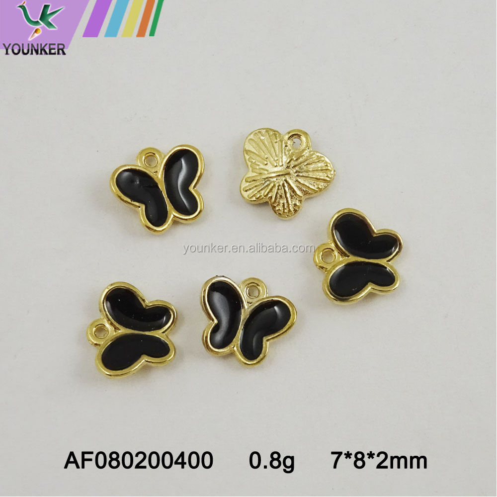Fashion alloy animal shape gold pendant for jewelry making