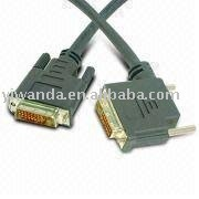black color gold plated scart to vga cable
