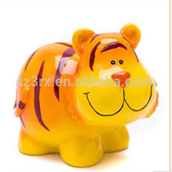 Enviromental material ABS various animal shaped coin bank saving boxes