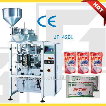 Automatic Packing Machine With Liquid Pump(JT-420L)
