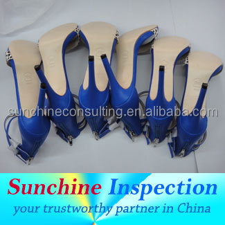 Footwear/shoes inspection/quality control service for garments/quality control and third-party inspection service