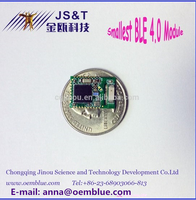 2016 jinou new Smallest Bluetooth 4.0 module BLE FCC/IC certificate used for ambulatory blood pressure monitor