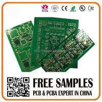 double side copper clad laminate pcb board & pcba assembly