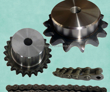 Asian standard stock bore sprocket with tooth hardened