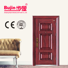 Cheap Price Manufacture low price 30 x 78 exterior security steel entry door