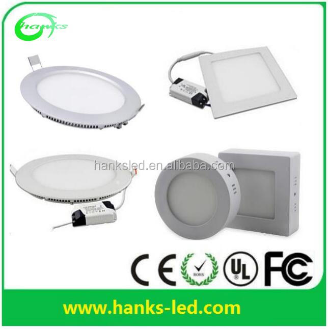 High Quality 12watt LED Panel Lamp 6W 9W 12W 15W 18W 20W round led panel light