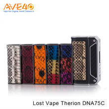 New Version Hottest DNA75 Box Mod Lost Vape Therion DNA75C
