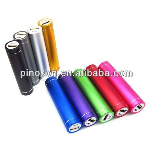2013 New products on china market fashionable moblie lipstick power bank for smartphone for iPhone iPod iPad
