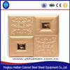 Leather embossing plate 3d carved wall polyurethane panels 40x40cm interior wall paneling