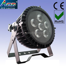 guangzhou china new LED par Stage Light 6pcs 6in1 RGBWA+UV Waterproof Wireless DMX Battery Powered LED stage flat Par 64 Lights