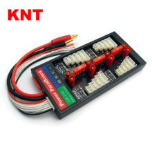 HXT3.5mm Bullet Safe Parallel Charging Board 40A ParaBoard with 4 Packs JST-XH (2-6S) for RC Lipo Charger
