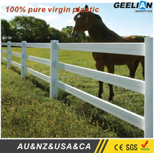 Hot Sell Cheap PVC Plastic Vinyl Horse Fence Cattle Fence