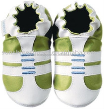 wholesale 100% genuine baby leather shoes