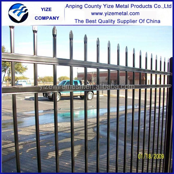 Galvanized and PVC coated Premier wire Mesh/ Security Fence Panel/wrought iron fence