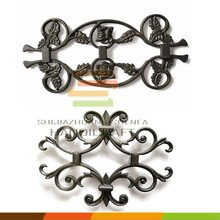 Cast iron fence and gate ornaments