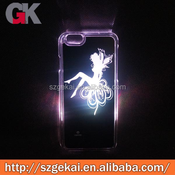 for iphone light up back covers, light up phone case for iphone 6