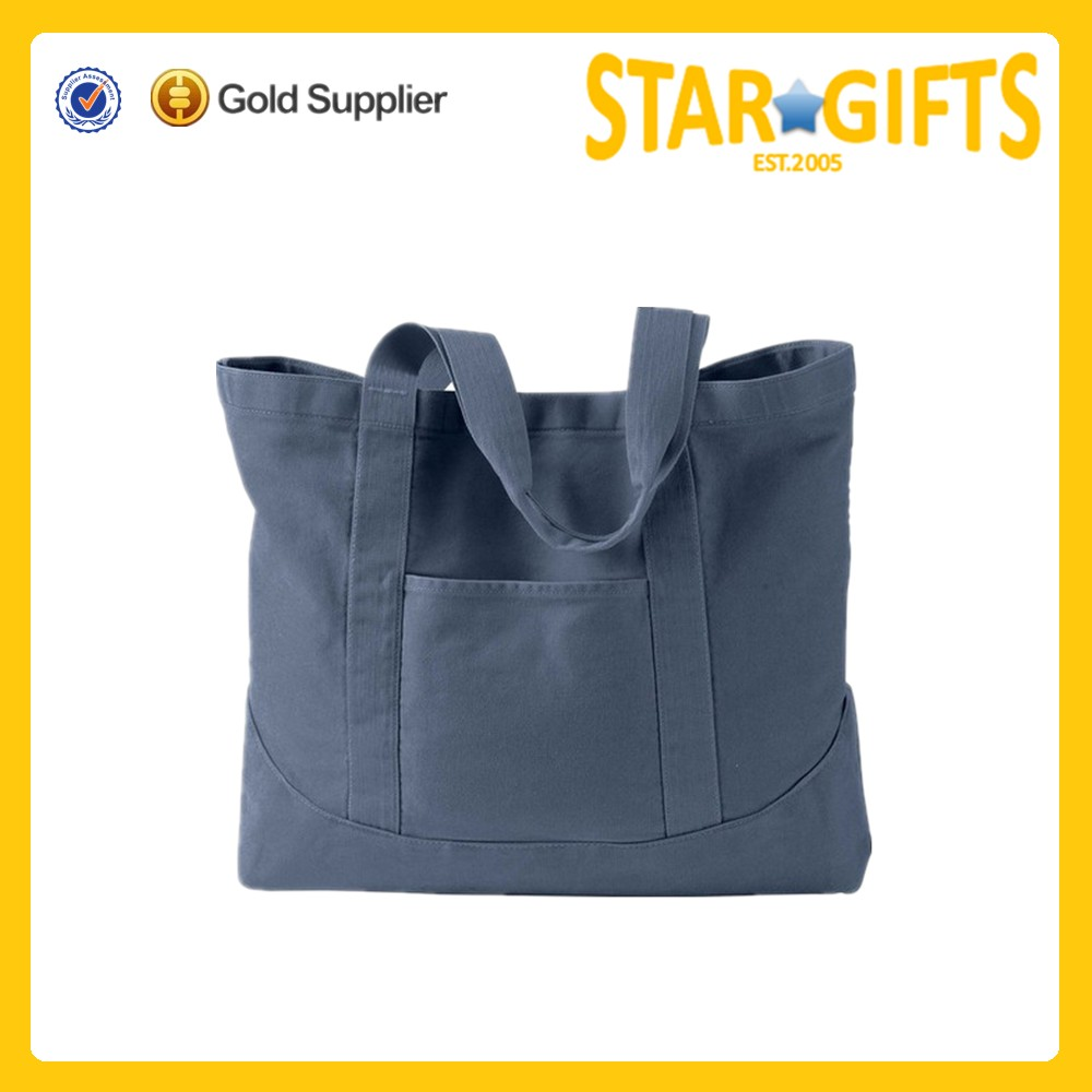 100 cotton canvas bags/promotional shopping bag/blank canvas wholesale tote bags