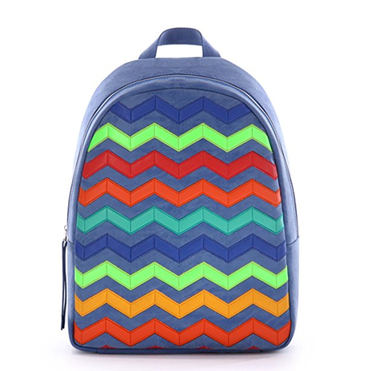 Stylish travel back to school fashion girls backpack bag of school of teenagers