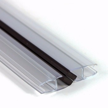 living hinge Clear PVC extrusion