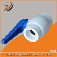 ppr pipe fittings ball valve price size 20mm to 32mm