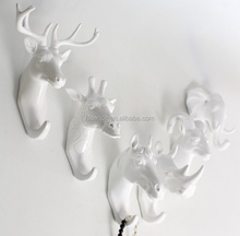 Aritificial Animal Style Home Decoration Single Wall Hooks and Hangers