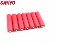 High capacity Original sanyo 18650 battery 3400mAh NCR18650BF Li-ion 3.6v rechargeable Battery high quality