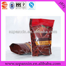 CMYK Printing triangle shaped plastic bags for food packing