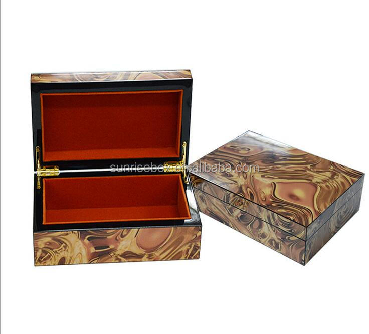 Customized High quality luxury classical wooden perfume box