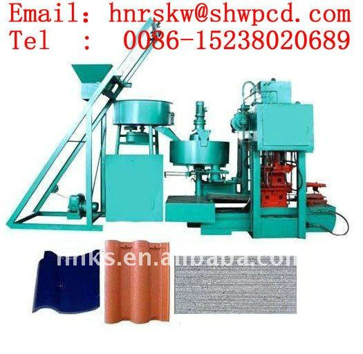 2016 HX-high efficient floor and roof Cement tile making machine