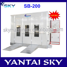 alibaba express china car paint cabin/car spray booth price/car painting equipment
